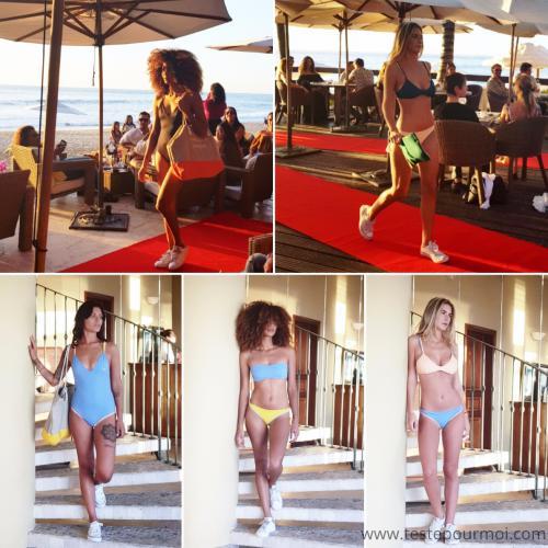 Défilé des maillots de bain Summerwaves à l'hôtel Saint-Alexis
