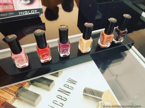 Make up : les nouveautés chez Inglot, retour sur la soirée What a Spice !