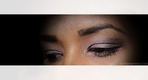 Côté make up on parle du Monday shadow challenge