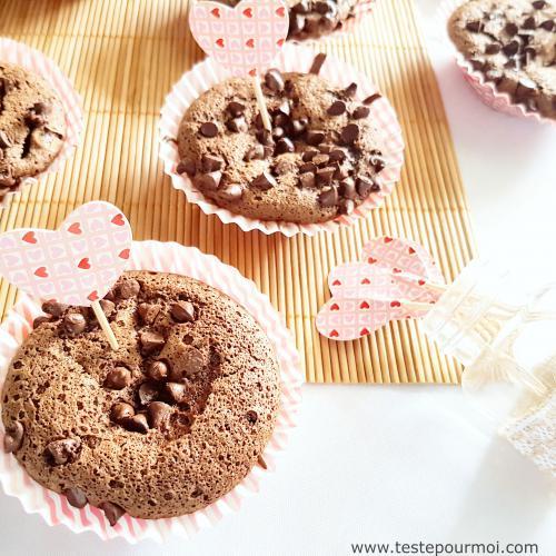 Cuisine : Moelleux au chocolat et pépites de chocolat