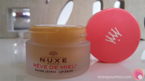 Le baume à lèvres Rêve de miel